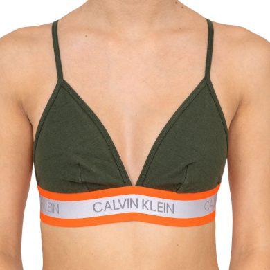Dámská podprsenka Calvin Klein zelená (QF5669E-FDX) M