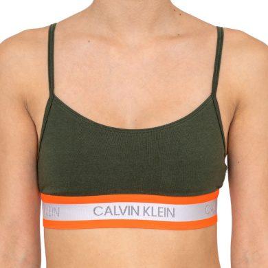 Dámská podprsenka Calvin Klein zelená (QF5459E-FDX) M