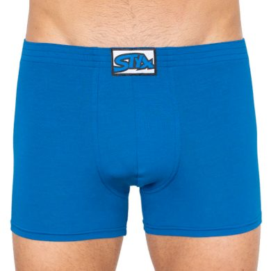 Pánské boxerky Styx long klasická guma modré (F967) L