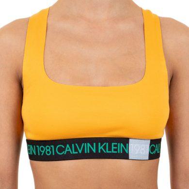 Dámská podprsenka Calvin Klein oranžová (QF5577E-1ZK) M