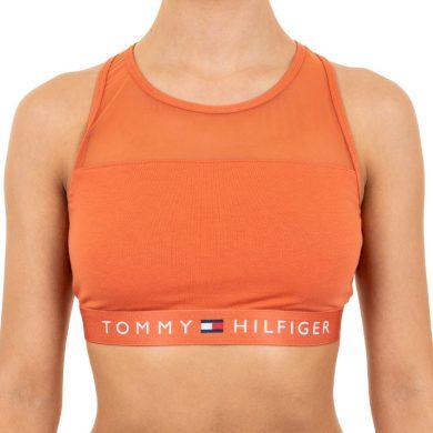 Dámská podprsenka Tommy Hilfiger oranžová (UW0UW00012 887) M