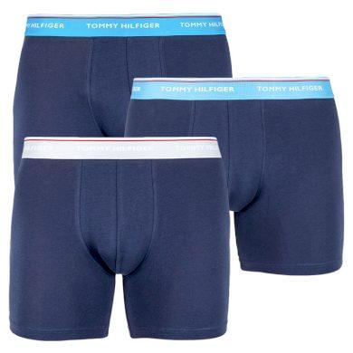 3PACK pánské boxerky Tommy Hilfiger tmavě modré (UM0UM00010 897) M