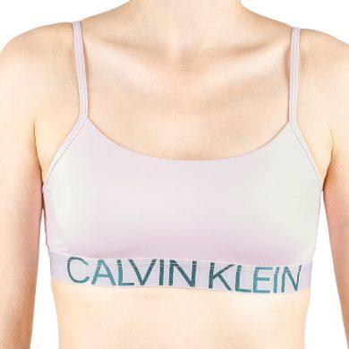 Dámská podprsenka Calvin Klein růžová (QF5181E-AUY) M