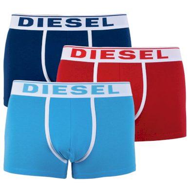 3PACK pánské boxerky Diesel vícebarevné (00ST3V-0JKKC-E4123) M