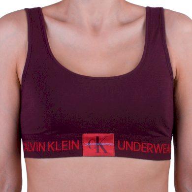 Dámská podprsenka Calvin Klein červená (QF4918E-XP2) M