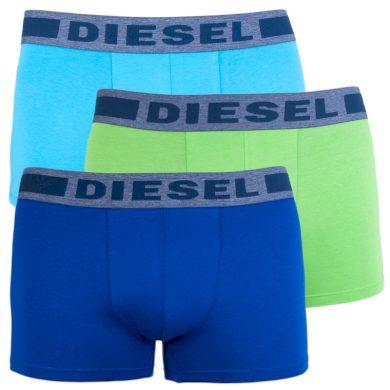 3PACK pánské boxerky Diesel vícebarevné (00SAB2-0BATB-E4064) M