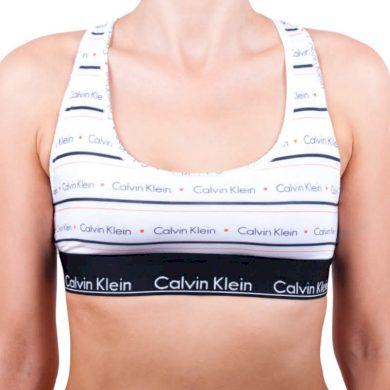 Dámská podprsenka Calvin Klein bílá (QF1659E-BWX) M