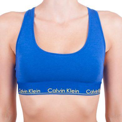 Dámská podprsenka Calvin Klein modrá (F3785E-PZ6) M
