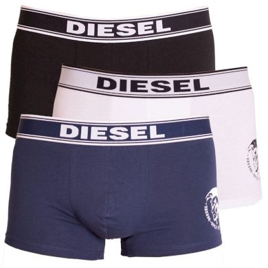 3PACK pánské boxerky Diesel vícebarevné (00SAB2-0TANL-02) M