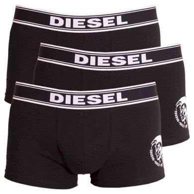3PACK pánské boxerky Diesel černé (00SAB2-0TANL-01) M
