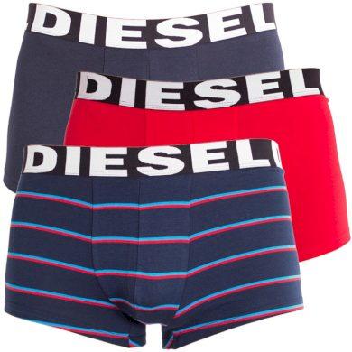 3PACK pánské boxerky Diesel vícebarevné (00SAB2-0PAPV-02) M