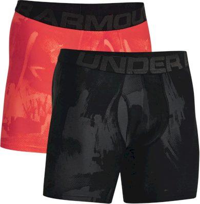 2PACK pánské boxerky Under Armour vícebarevné (1363621 003) S