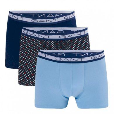 3PACK pánské boxerky Gant vícebarevné (902113253-423) M