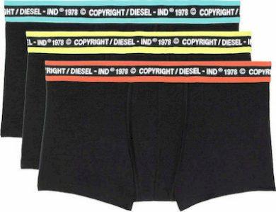 3PACK pánské boxerky Diesel černé (00ST3V-0WBBT-E5639) S
