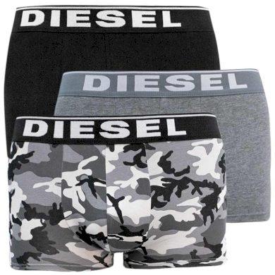 3PACK pánské boxerky Diesel vícebarevné (00ST3V-0WBAE-E5359) XL