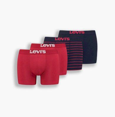 4PACK pánské boxerky Levis vícebarevné (100003048 001) M