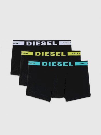 3PACK pánské boxerky Diesel černé (00CKY3-0BAOF-E5451) S
