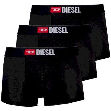 3PACK pánské boxerky Diesel černé (00ST3V-0WAWD-E4101) L