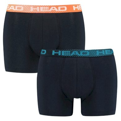 2PACK pánské boxerky HEAD tmavě modré (701202740 002) XL
