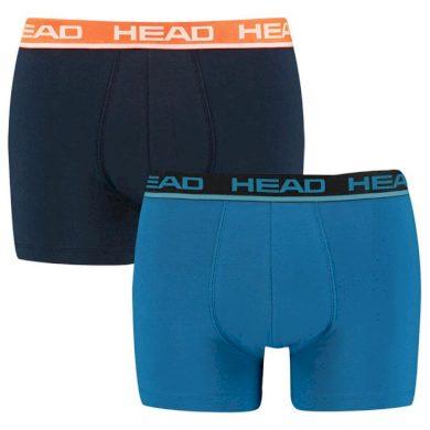 2PACK pánské boxerky HEAD modré (701202741 002) XL