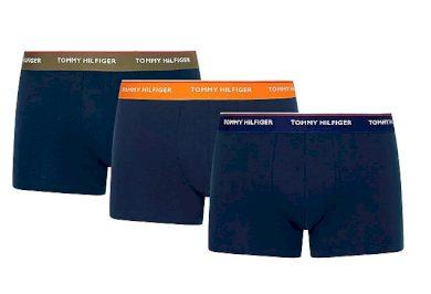 3PACK pánské boxerky Tommy Hilfiger tmavě modré (UM0UM01642 0SW) L
