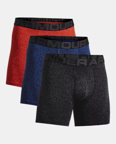 3PACK pánské boxerky Under Armour nadrozměr vícebarevné (1363615 404) 5XL