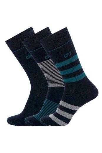 3PACK ponožky CR7 vícebarevné (8273-80-113) L