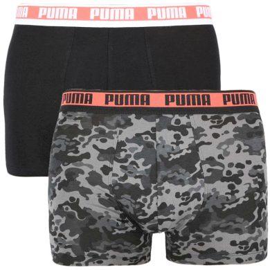 2PACK pánské boxerky Puma vícebarevné (100001141 004) L
