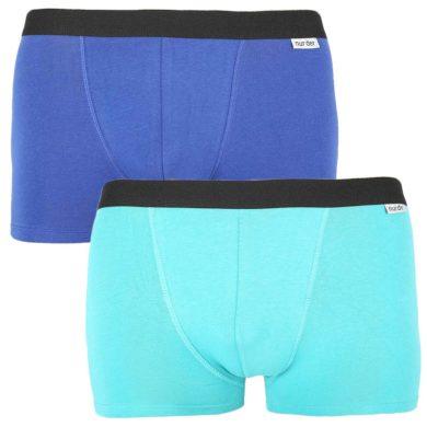 2PACK pánské boxerky Nur Der vícebarevné (827756 - navy/turkis) XL