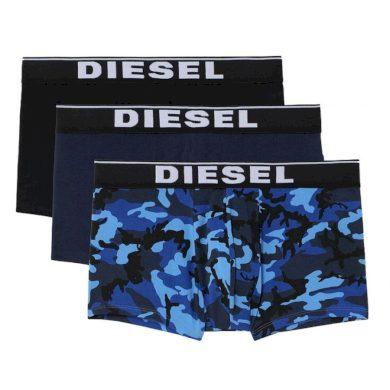 3PACK pánské boxerky Diesel vícebarevné (00ST3V-0WBAE-E5436) XXL