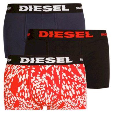 3PACK pánské boxerky Diesel vícebarevné (00ST3V-0ACAM-E5325) XL