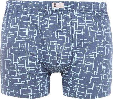 Pánské boxerky Andrie modré (PS 5435 A) 3XL