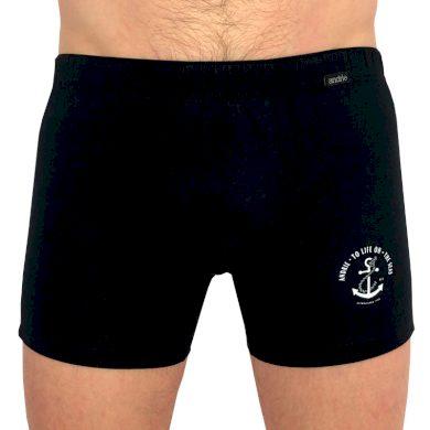 Pánské boxerky Andrie černé (PS 5389 C) M