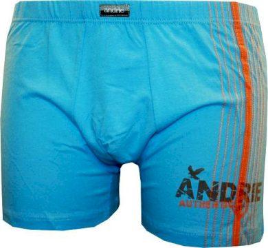 Pánské boxerky Andrie modré (PS 5048 D) M