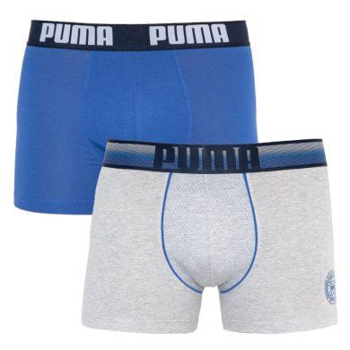 2PACK pánské boxerky Puma vícebarevné (501009001 010) XL