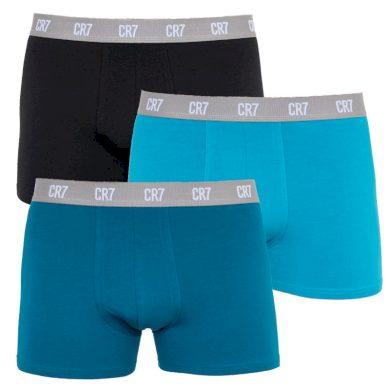 3PACK pánské boxerky CR7 vícebarevné (8100-49-2717) M
