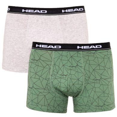 2PACK pánské boxerky HEAD vícebarevné (891004001 404) L