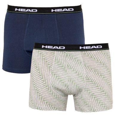 2PACK pánské boxerky HEAD vícebarevné (891005001 686) L