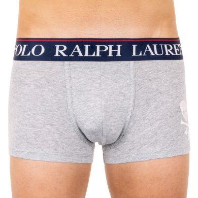 Pánské boxerky Ralph Lauren šedé (714753009001) M