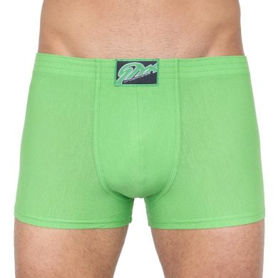 Pánské boxerky Styx klasická guma zelené (Q665) S