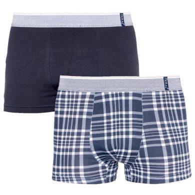 2PACK Pánské boxerky Molvy vícebarevné (KP-067-BEU) XL