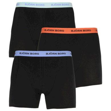 3PACK pánské boxerky Bjorn Borg černé (2111-1087-90651) XL