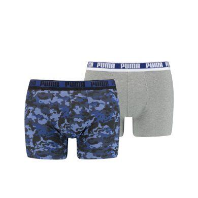 2PACK pánské boxerky Puma vícebarevné (100001141 002) XL