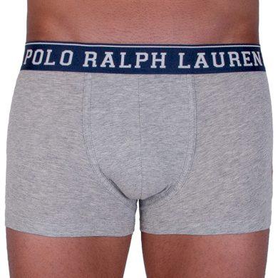 Pánské boxerky Ralph Lauren šedé (714707318001) M