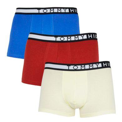 3PACK pánské boxerky Tommy Hilfiger vícebarevné (UM0UM02202 0W8) XL
