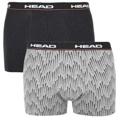 2PACK pánské boxerky HEAD vícebarevné (100001415 004) XL