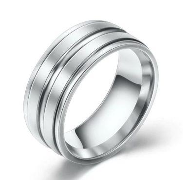 Stříbrný prsten z kvalitního Titanu SR177