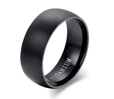Prsten z kvalitního titanu  v černém provedení SR178