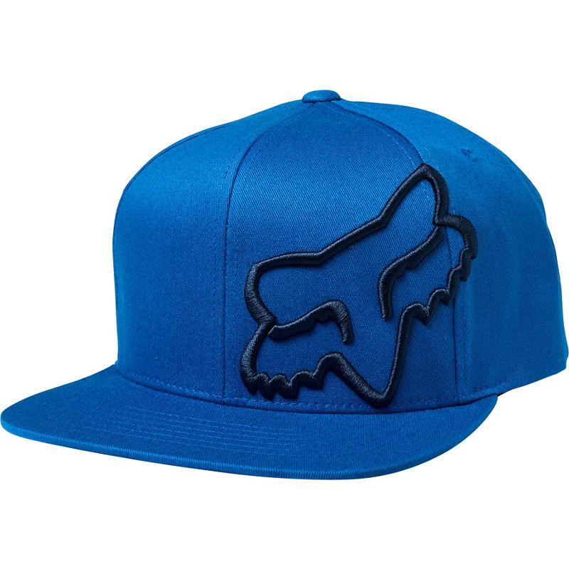 Pánská kšiltovka FOX Headers Snapback Hat - Royal Blue - One Size