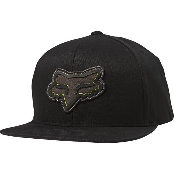 Pánská kšiltovka Fox Gasket Snapback Hat Black OS